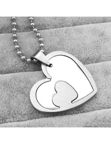 Collar para parejas 2 hearts