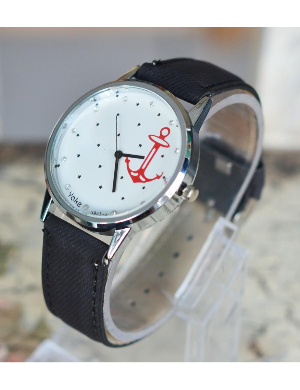 Reloj de Ancla con estrellas