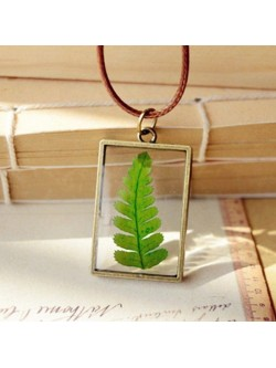 Collar Encapsulado Green Plant