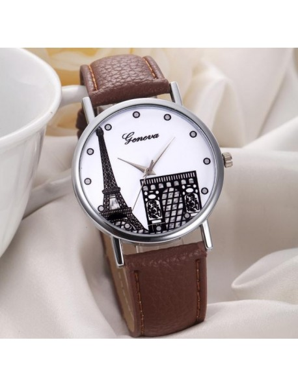 Reloj Geneva Paris Arco del triunfo