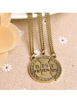 Collar Bronce Best Friends de 3