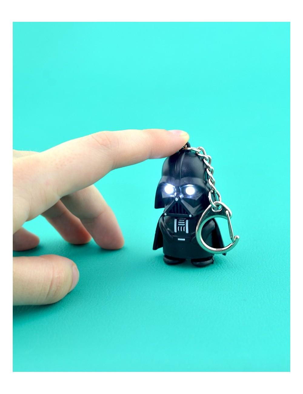 Llavero de Darth Vader con luz y sonido