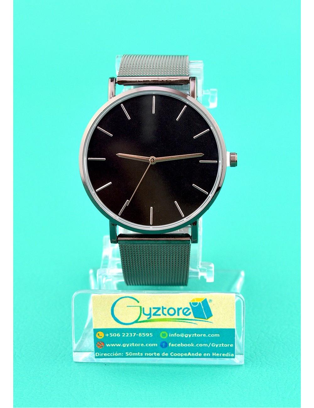 Reloj de acero inoxidable Unisex