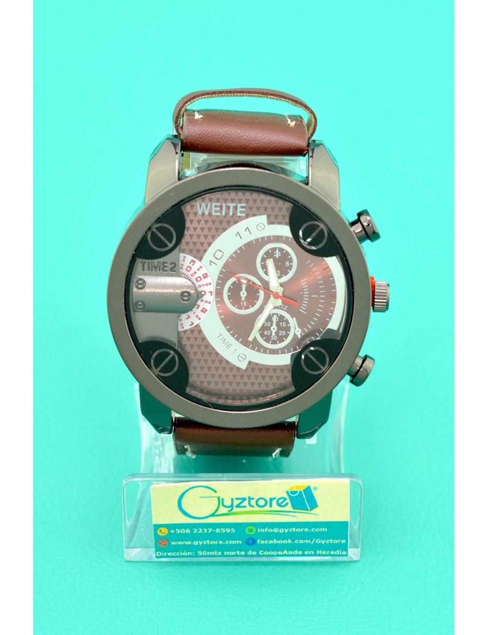 Reloj cafe de hombre Luxury