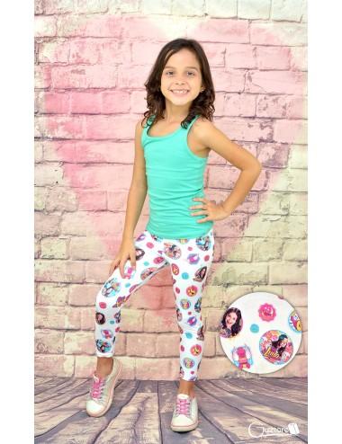 Licras para niñas diseño Soy Luna