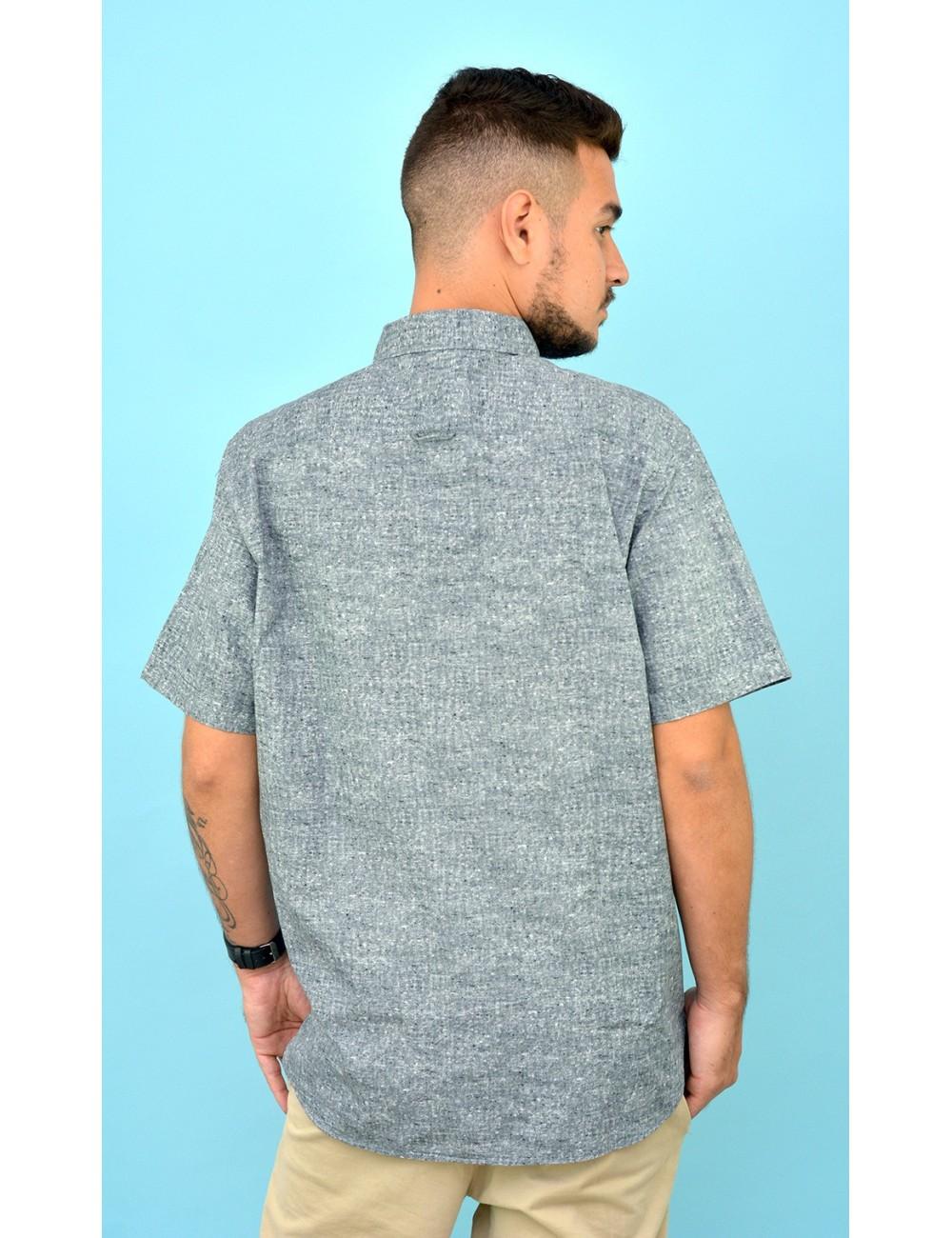 Camisa gris pardo