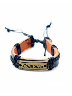 Pulsera Sele Costa Rica color negra