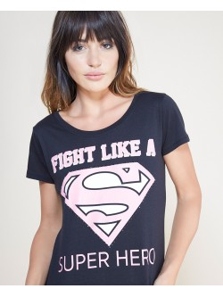 Blusa Fight like a SuperHero