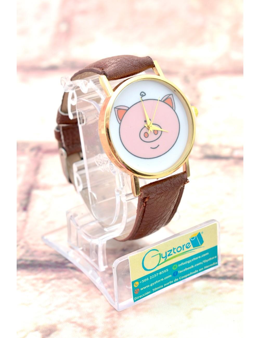Reloj Diseño de Chanchito