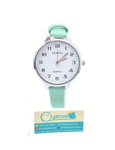 Reloj Geneva Números Grandes Faja Delgada