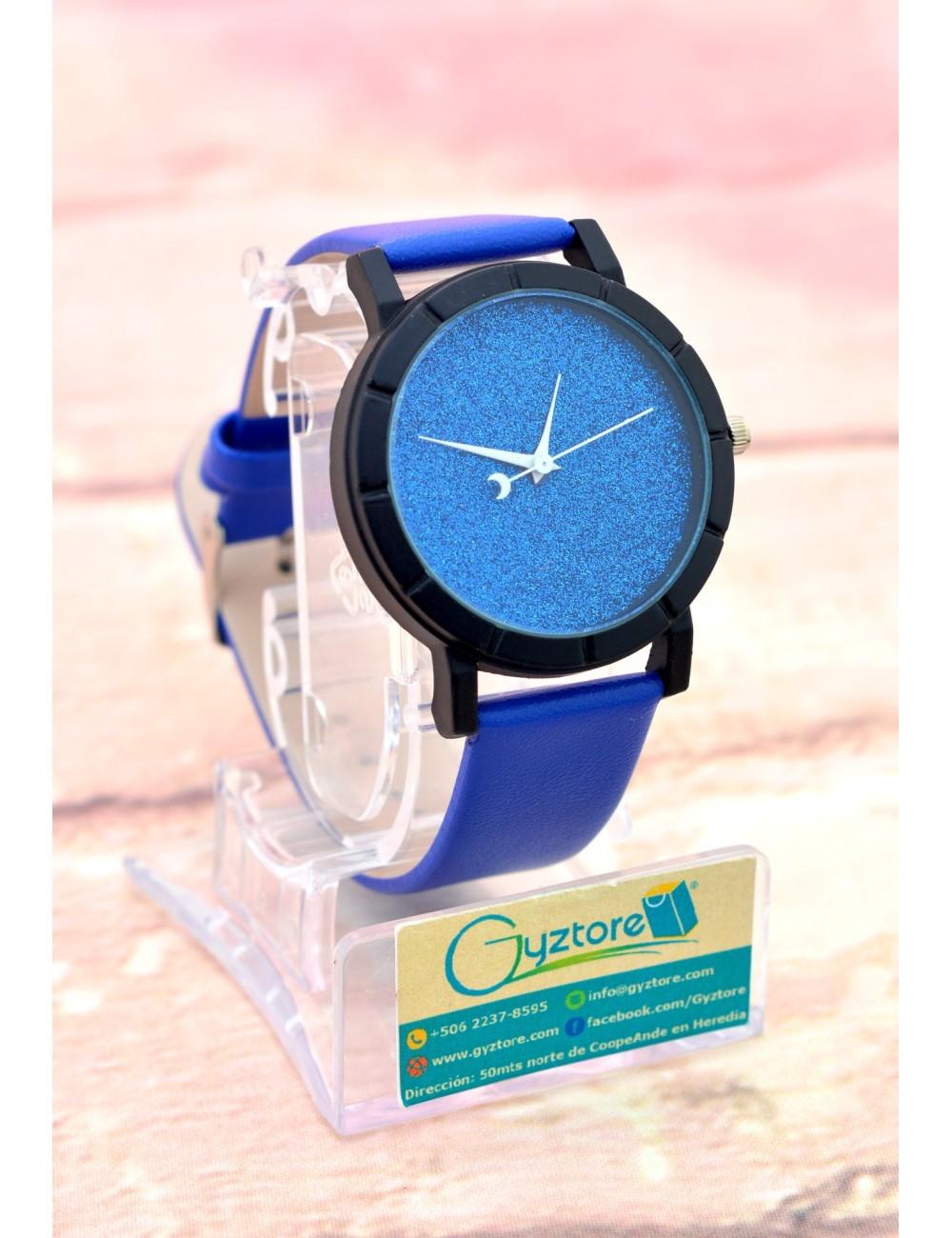 Reloj Carátula Escarchada