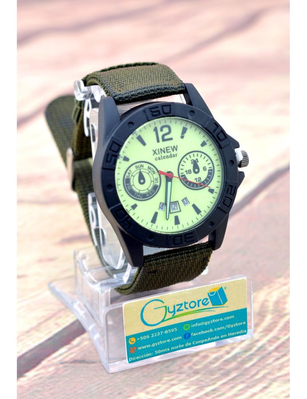 Reloj Casual con Faja de Nylon
