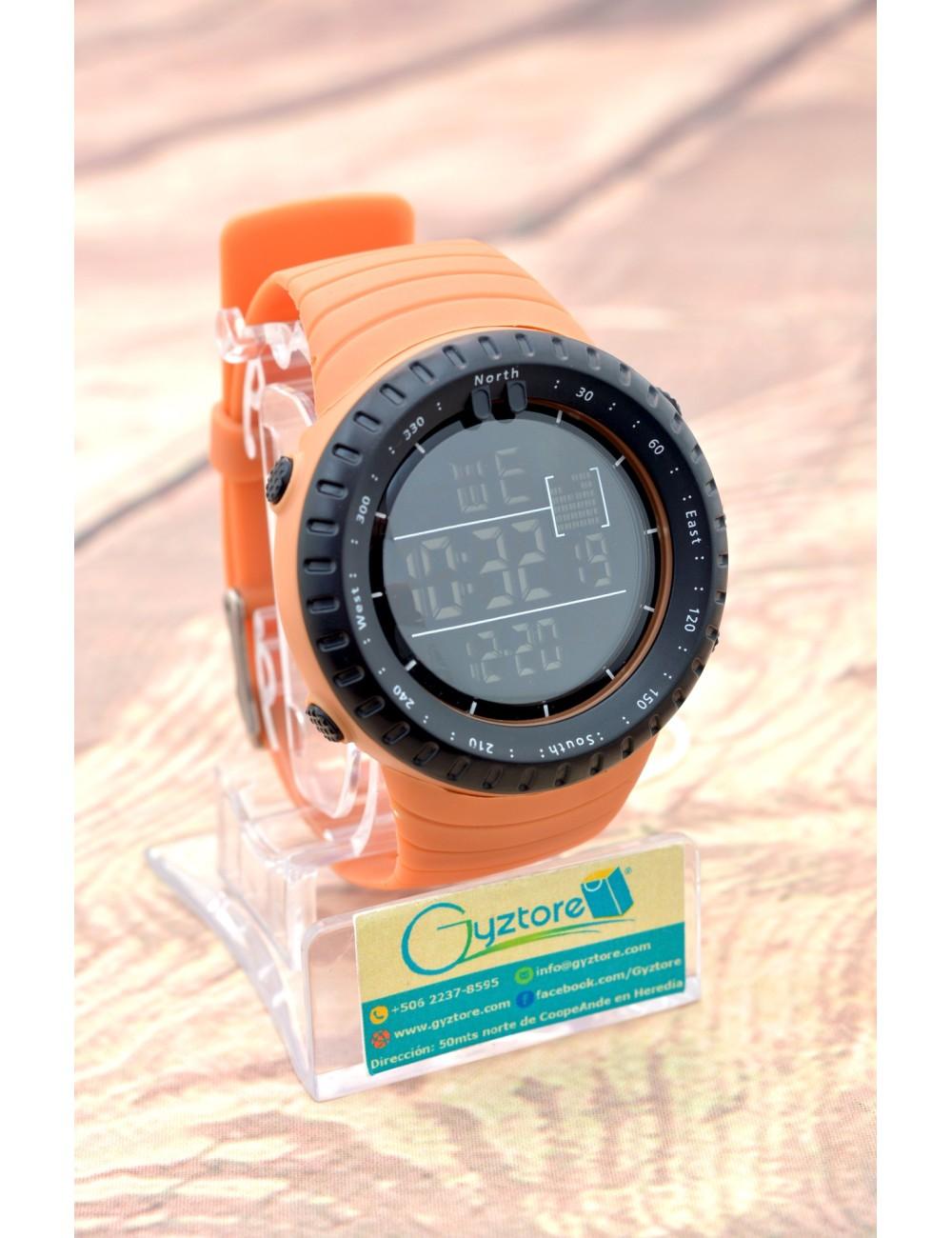 Reloj Deportivo Digital Carátula Redonda