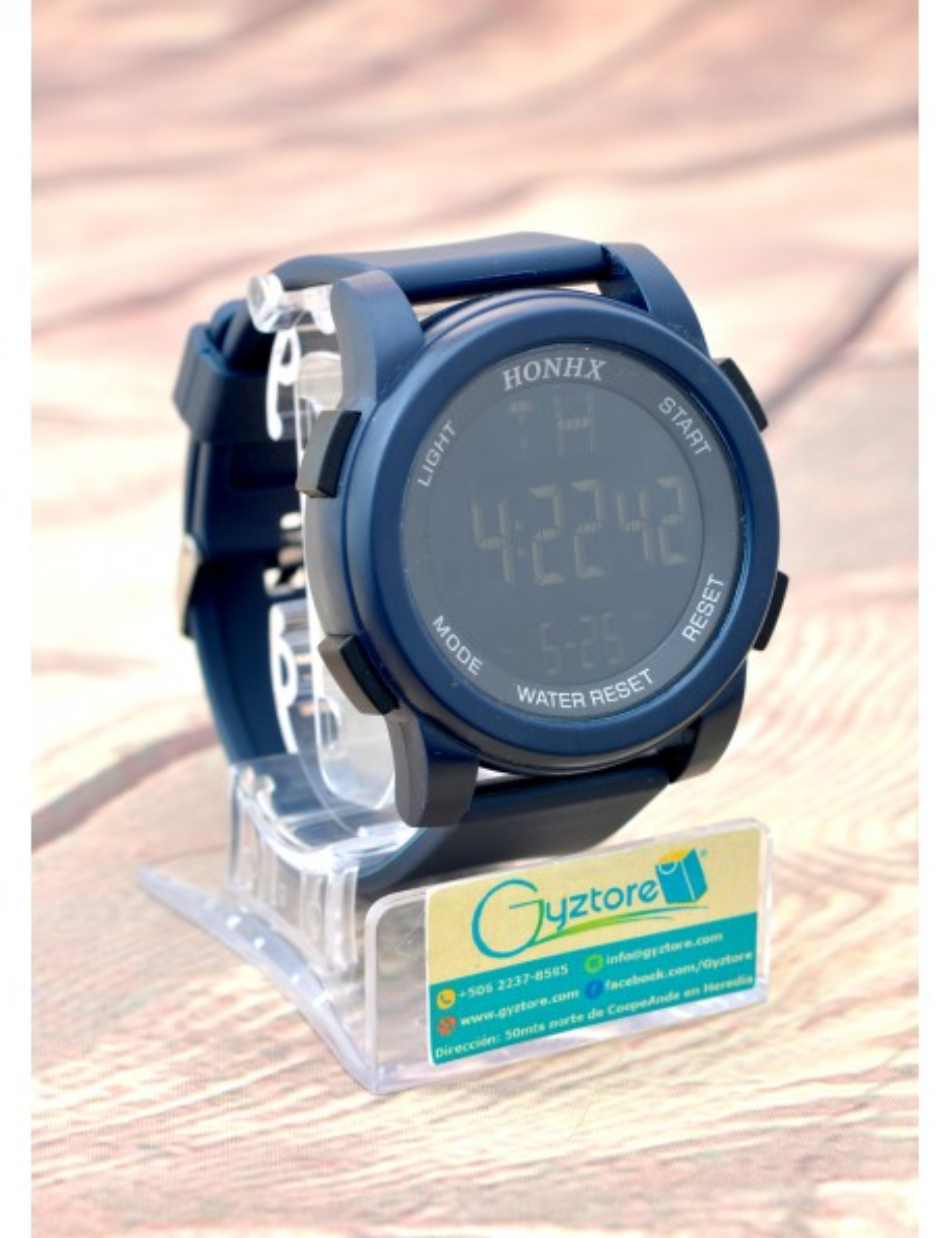 Reloj Deportivo LED Digital Faja de Silicón