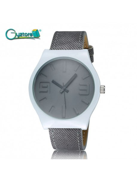 Reloj Leather Strap Unisex