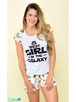 "Pijamas ""Best Girl in Galaxy"""