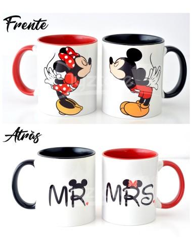 Tazas de Minnie y Mickey