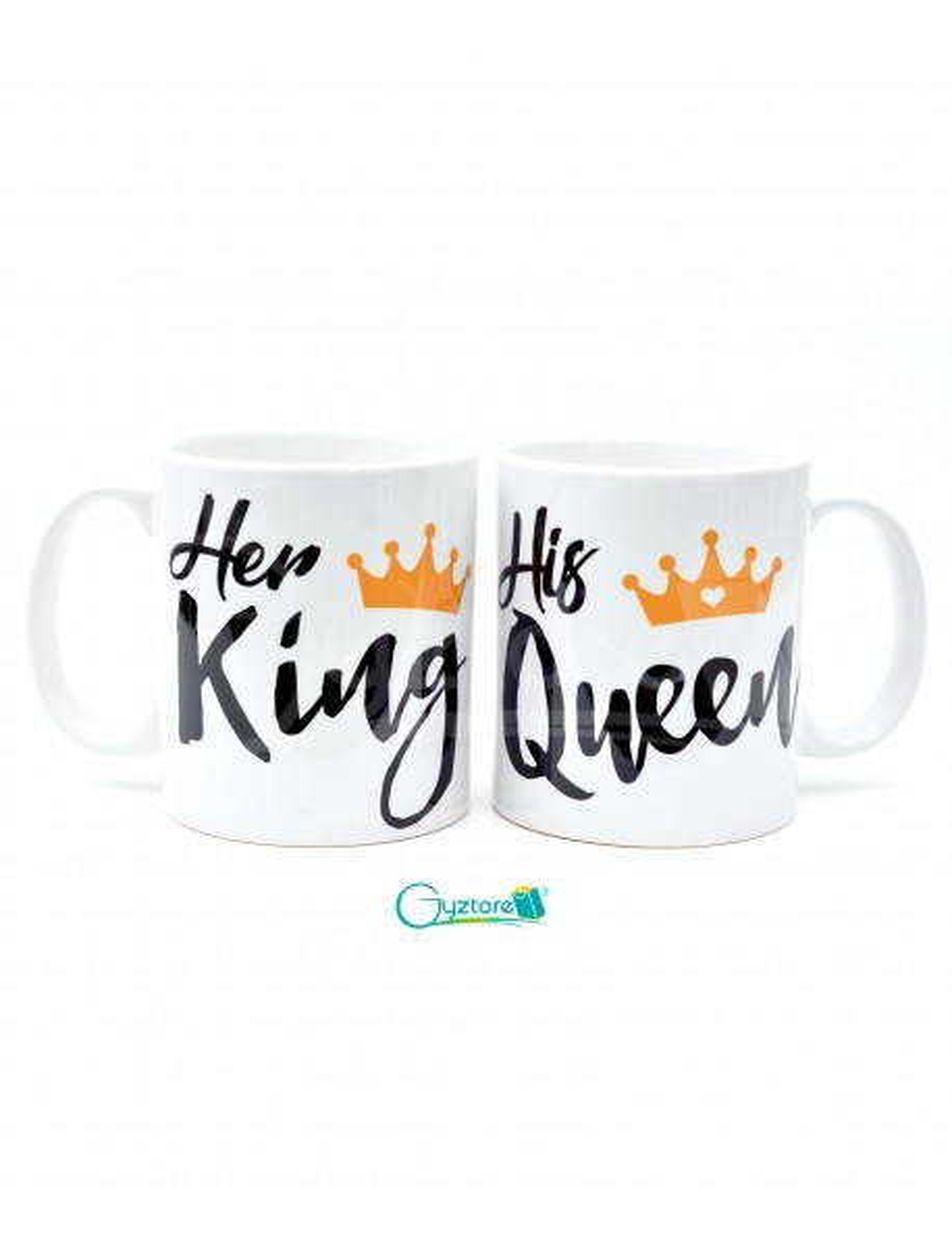 Tazas para parejas 'His Queen, Her King'