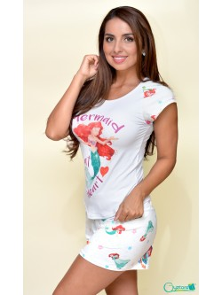 "Pijamas de Sirenita ""Mermaid at Heart"""