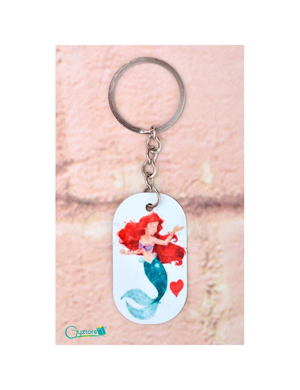 """Llavero diseño """"Sirena de corazón"""""""