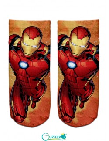 Calcetas unisex diseño de superhéroes