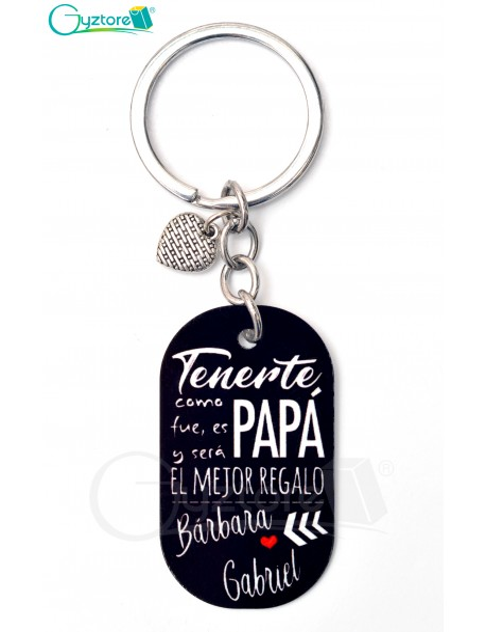 """Llavero Personalizable """"El Mejor Regalo"""""""