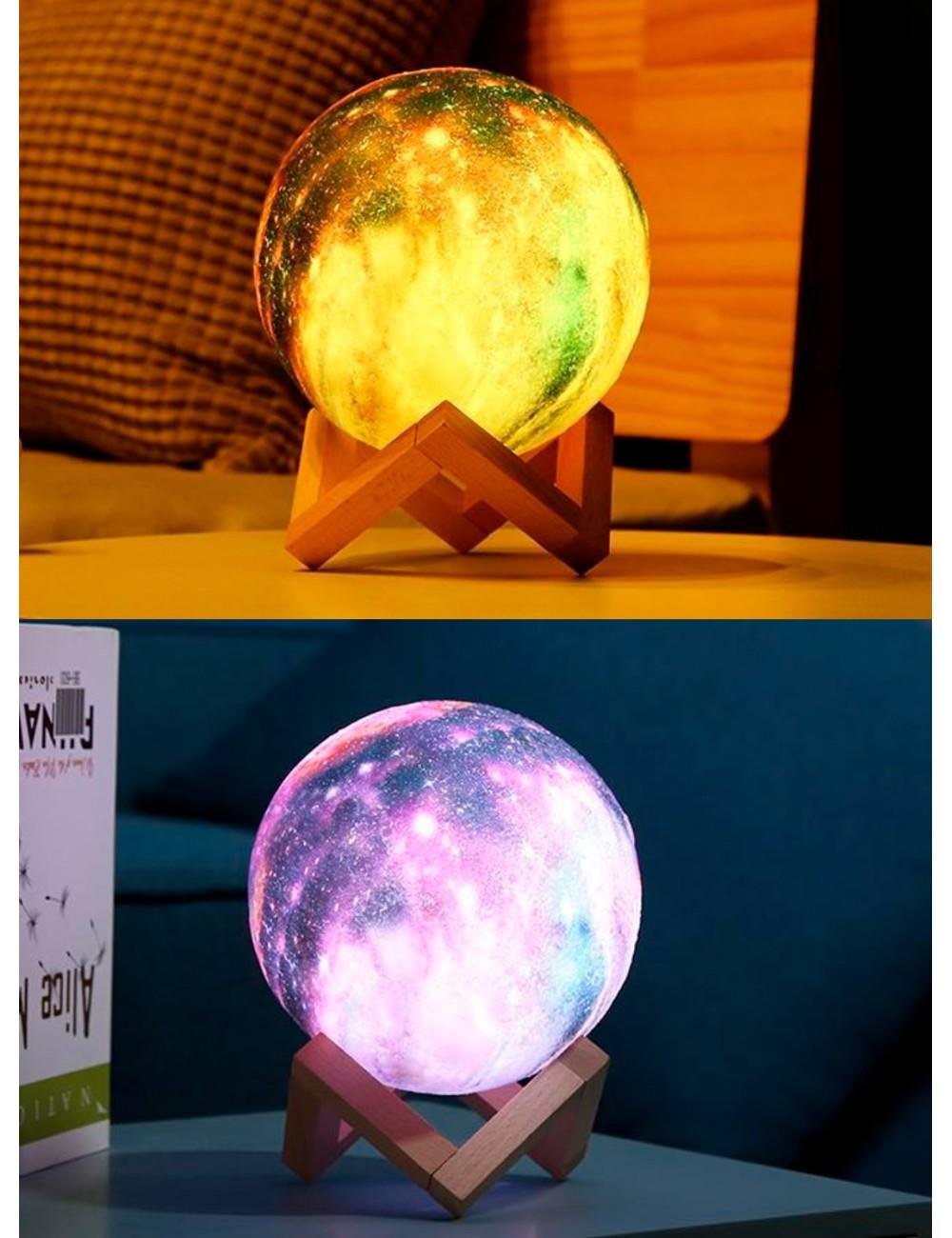 Lámpara LED diseño de Galaxia