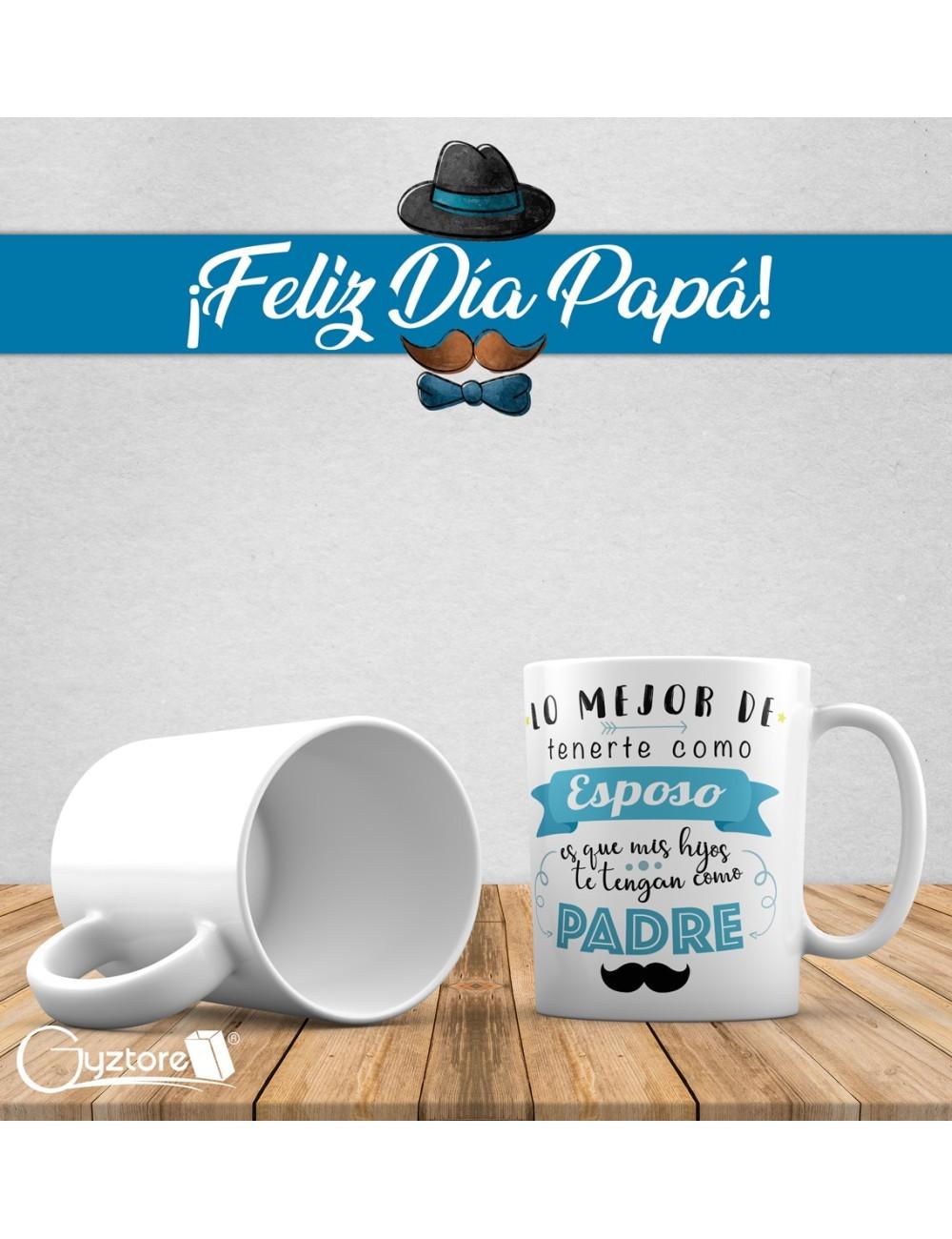 """Tazas para papás """"Lo único mejor"""""""
