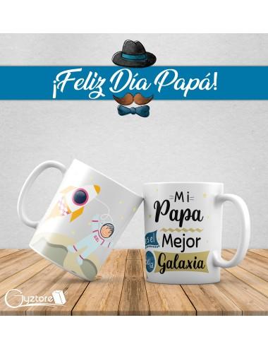 """Tazas para papás """"El mejor de la galaxia"""""""
