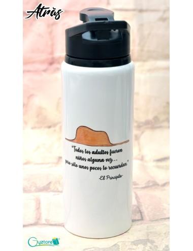 """Botella diseño de """"El Principito"""""""