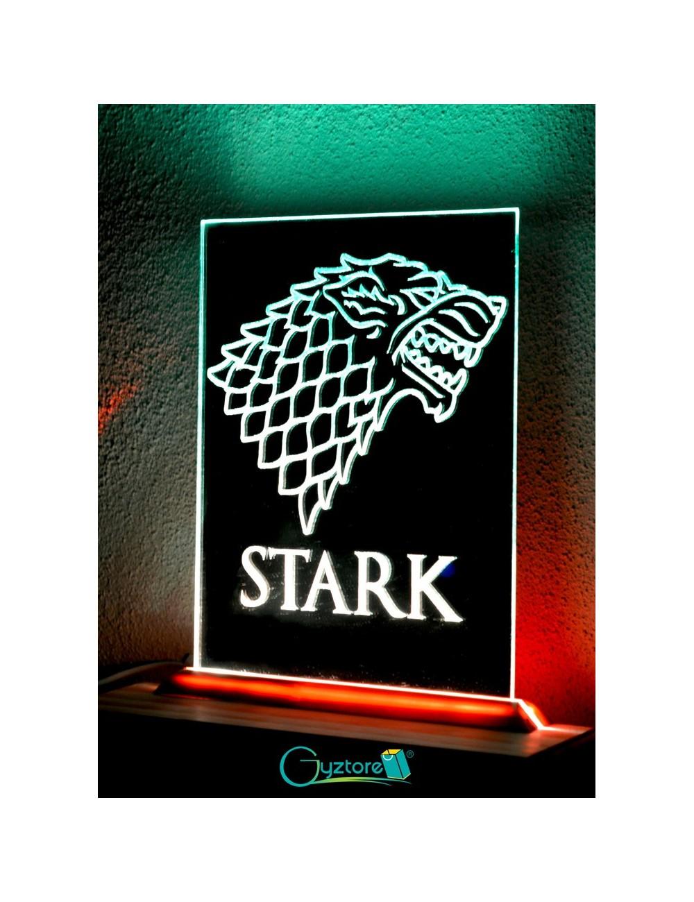 """Lámpara-Espejo LED decorativa diseño """"Stark"""""""