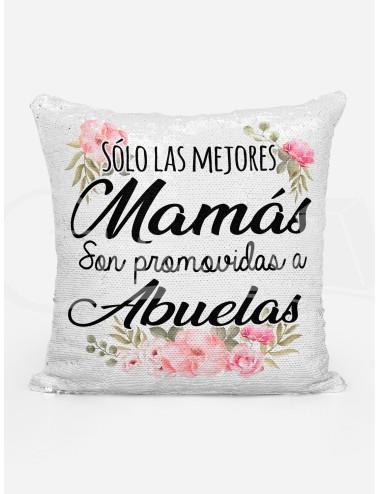 """Almohadón Mágico """"Las mejores mamás son promovidas"""""""