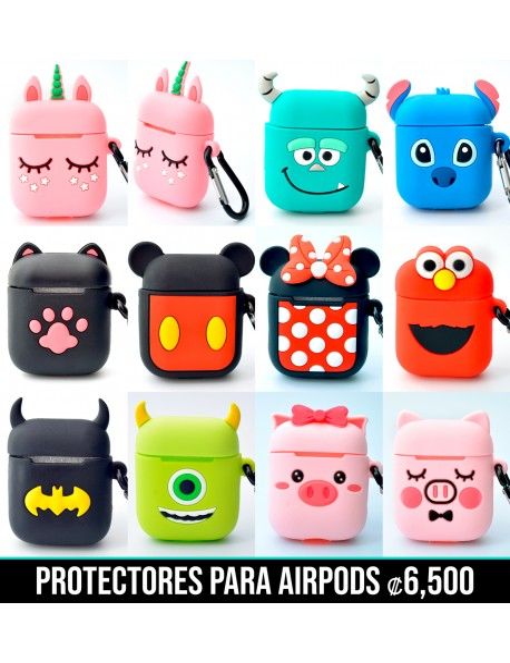 Protectores para AirPods