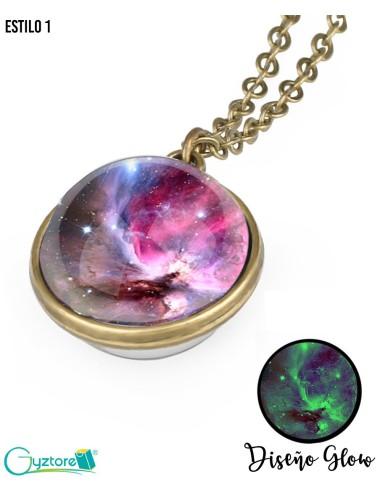 Collar Galaxy Glow