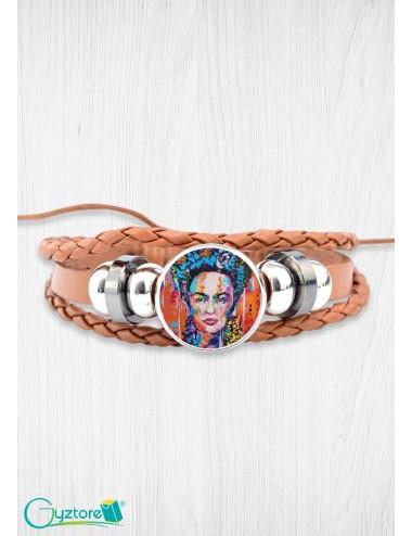 Brazalete diseño de Frida