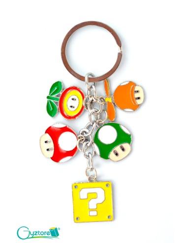 Llavero diseño de Super Mario