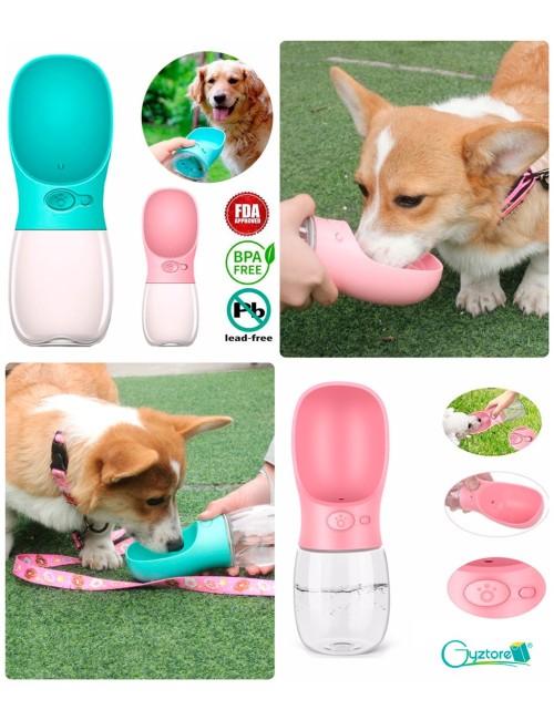 Dispensador portatil de agua para mascotas