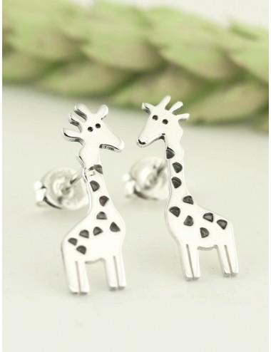 Aretes diseño de jirafa