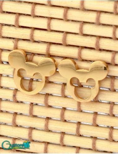 Aretes diseño de Mickey