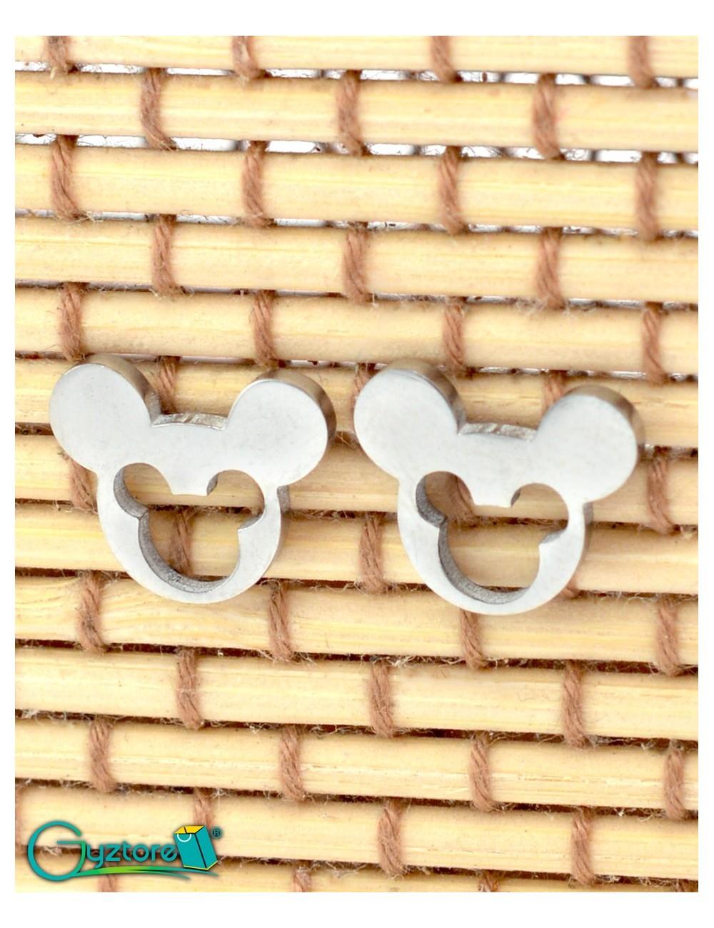 Aretes Mickey Dorados