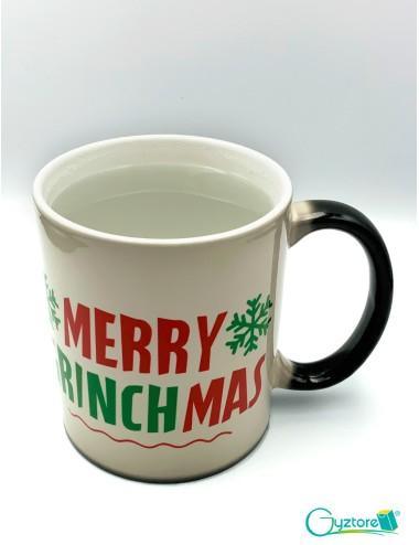 Taza mágica Merry Grinchmas