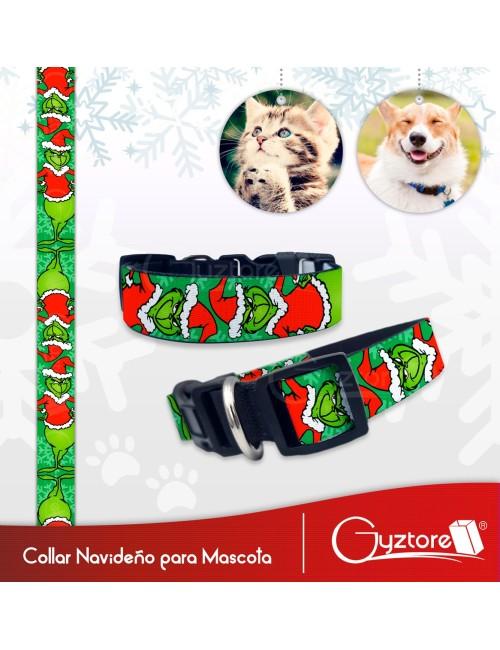 Collar navideño para Mascotas