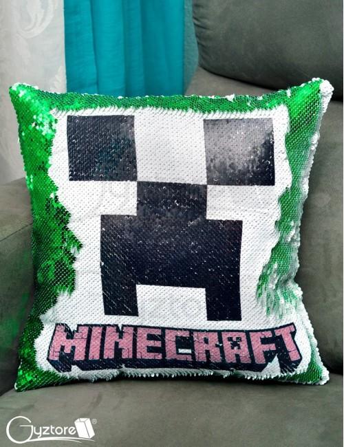 Almohadón Mágico Minecraft