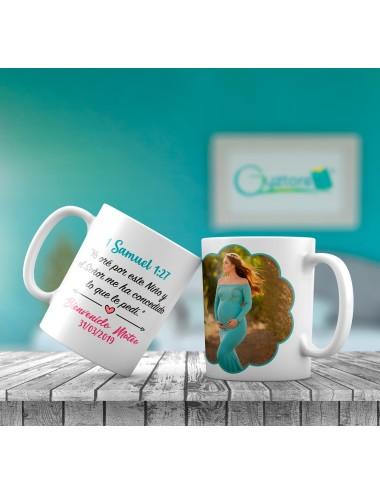 Taza personalizable para embarazadas