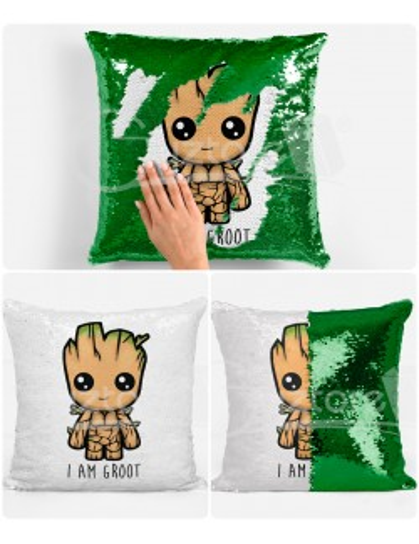 Almohadón Mágico Groot