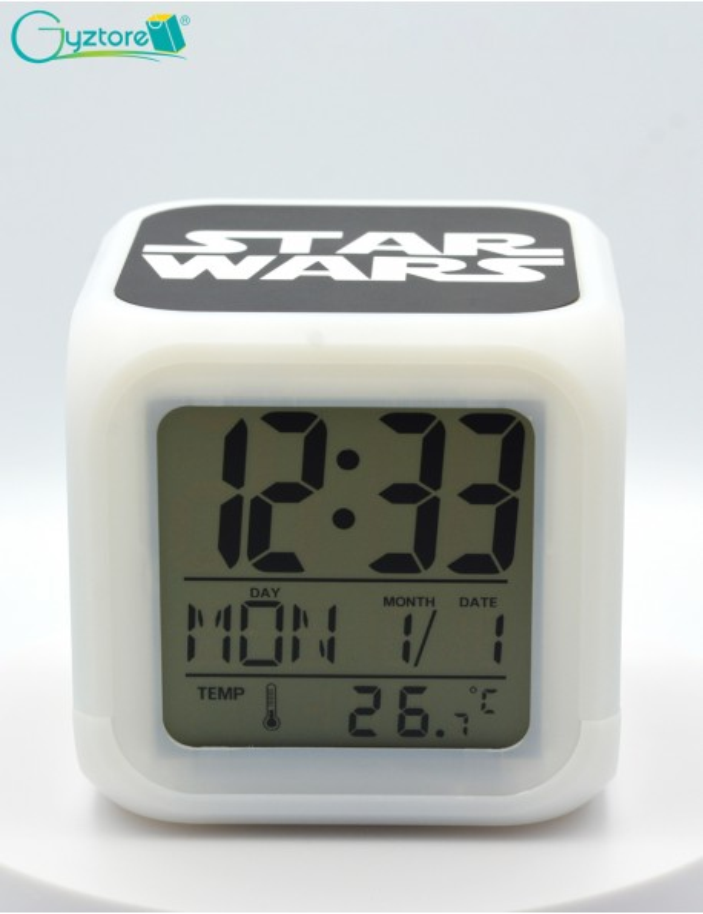 "Relojes digitales ""StarWars"" con LED multicolor"