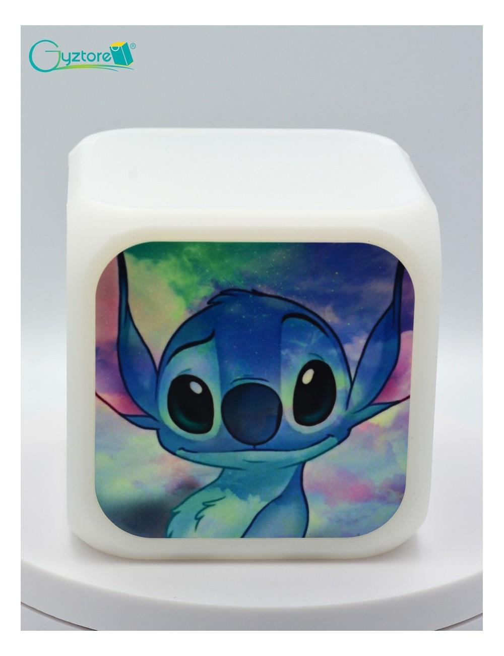 "Relojes digitales ""Stitch Galaxy"" con LED multicolor"