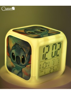 "Relojes digitales ""Stitch Galaxy"" con LED multicolor"