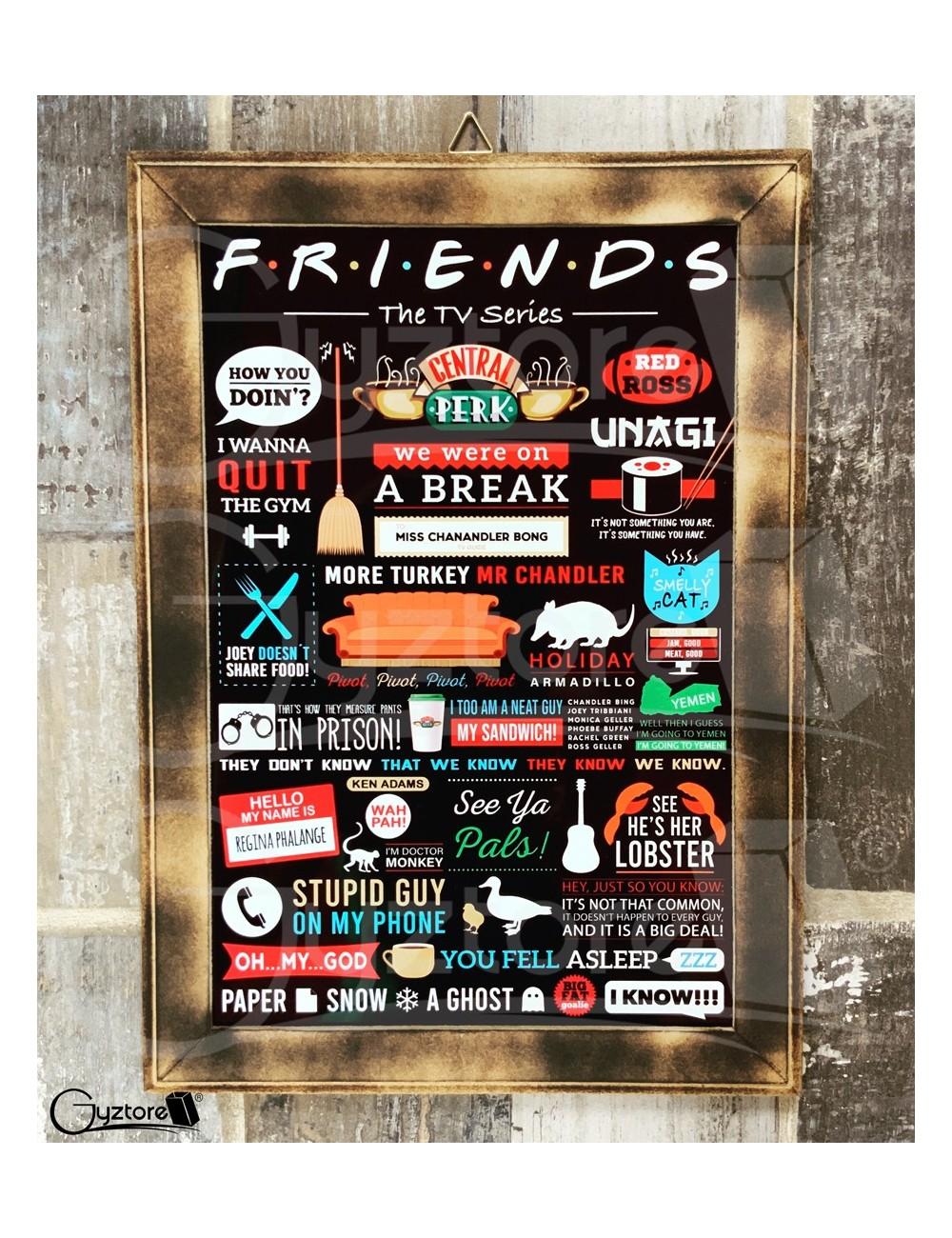 Cuadro Friends