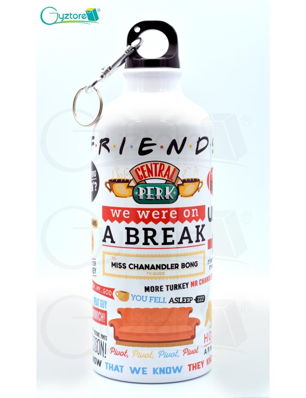 "Botella ""Friends"""